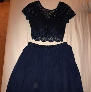 Gorgeous Speechless two piece dress! Size 1!